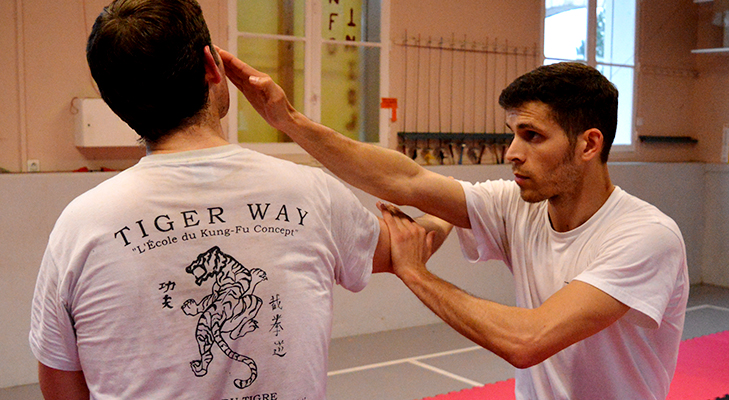 Christophe Duchatel instructeur en kung-fu - jeet-kune-do