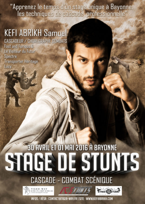 Stage de Cascade - Kefi Abrikh - Bayonne