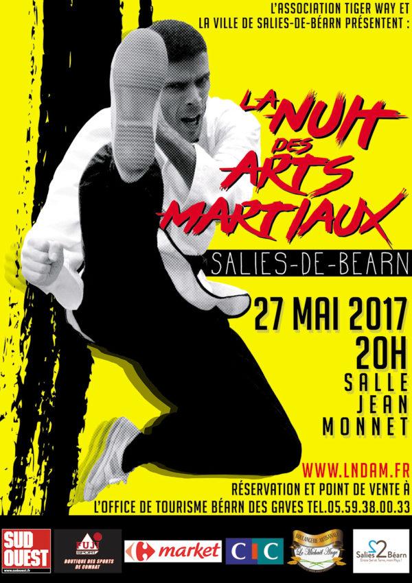 La Nuit Des Arts Martiaux - Salies-de-Béarn