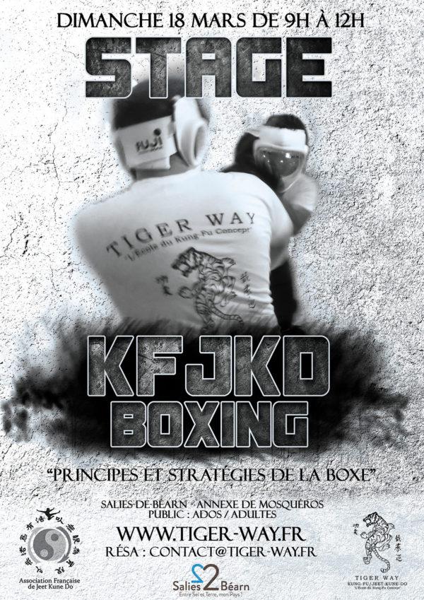 Stage de Kung-fu - Jeet Kune Do sur la Boxe