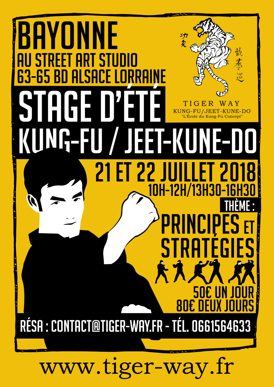 Stage kung-fu - jeet kune do ete 2018 - bayonne