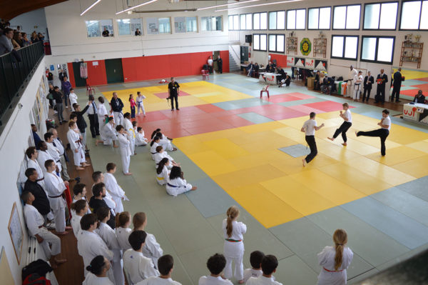 Démonstration de Kung-Fu - Open International Karaté Do IBA - Anglet - Côte Basque