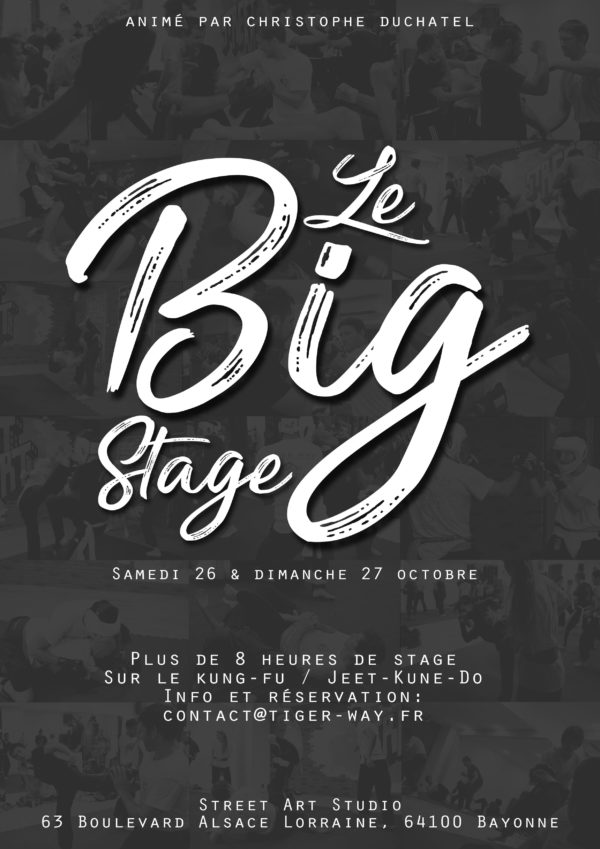 Le Big Stage 2019 - Kung-Fu_Jeet-Kune-Do
